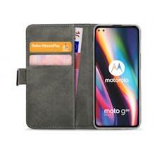 Mobilize Moto G 5G Plus Wallet Case Black