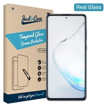 Just in Case Galaxy Note 10 Lite Glass Screenprotector
