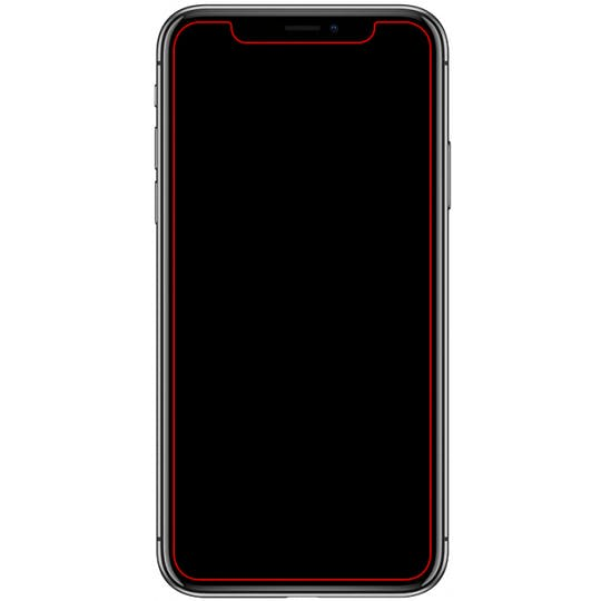 Mobilize iPhone X / XS / 11 Pro Glass Screenprotector